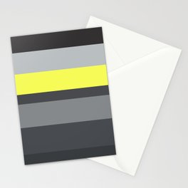 black and yellow Stationery Cards