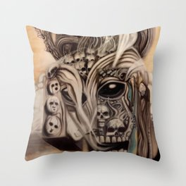 Ghost Machine Throw Pillow
