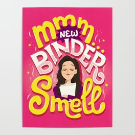 New Binder Smell Poster