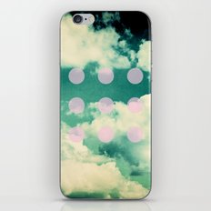Clouds + Dots iPhone & iPod Skin