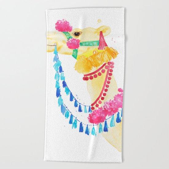 Marrakesh Camel Beach Towel
