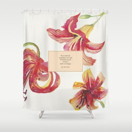 You could ask anything of me...Jace Herondale. The Mortal Instruments. Shower Curtain