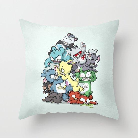 Bear Pile Throw Pillow