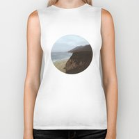 big sur Biker Tanks featuring Big Sur by mzsphoto