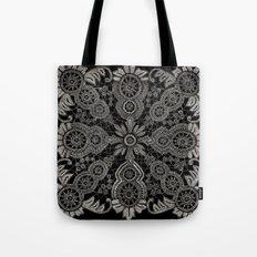 Victorian Monochrome Tote Bag