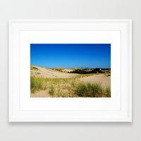dune Framed Art Prints featuring Dune by cirqueduchloe