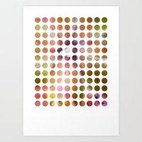 dot Art Prints featuring Dot by Jeanette Nilssen