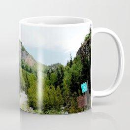The Turnoff to the Perilous Engineer Pass Road, No. 2 of 5 Coffee Mug