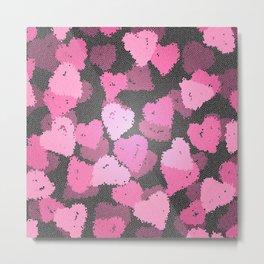 Hearts of Love IV Metal Print
