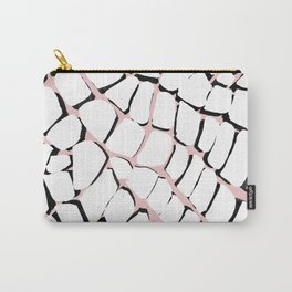 3D Turtle Print Carry-All Pouch