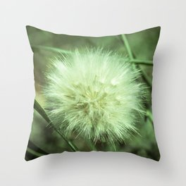 Puffy Day Throw Pillow
