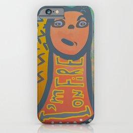 Atlantis Icon / I'm on Fire! iPhone Case