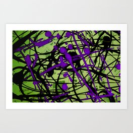 Lime Pop Art Print