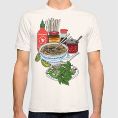 Pho-tastic! Mens Fitted Tee Natural LARGE