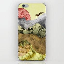 The mountain lion iPhone Skin