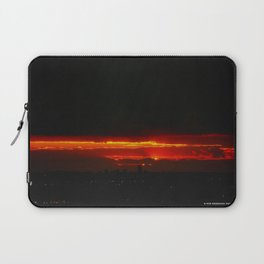 There's a Feeling I Get When I Look to the West #3 (Chicago Sunrise/Sunset Collection) Laptop Sleeve
