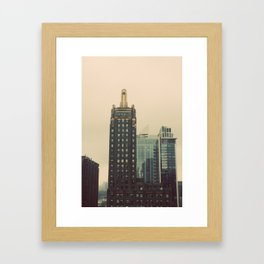 Carbide and Carbon Building Chicago Framed Art Print