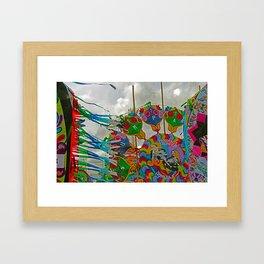 Kites - All Saints Day Framed Art Print