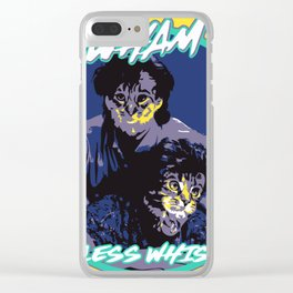 WHAM CARELESS WHISKERS Clear iPhone Case