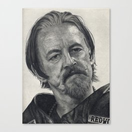 Chibs (Sons of Anarchy) Canvas Print