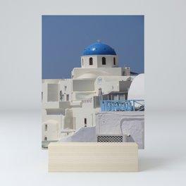 Blue Church Cupola Mini Art Print