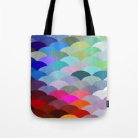 house Tote Bags featuring Scales by Steven Womack