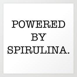 spirulina Art Print