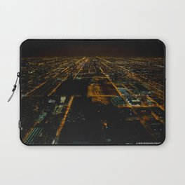 Lights for Miles and Miles #1 (Chicago Architecture Series) Laptop Sleeve