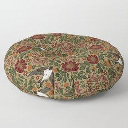 Vintage & Shabby Chic - William Morris Flying Doves  Floor Pillow