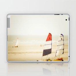 Sand yachting trio Laptop & iPad Skin