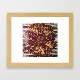Albie Lace Framed Art Print