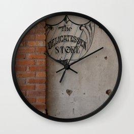 To the Deli Wall Clock