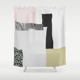 On the wall Shower Curtain