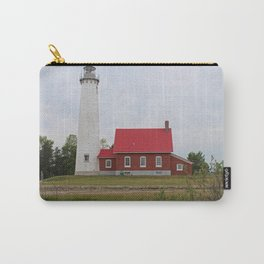 East Tawas Lighthouse -horizontal Carry-All Pouch