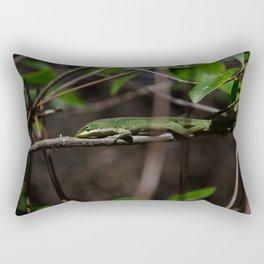 Sunbathing Rectangular Pillow