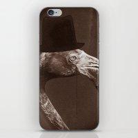 gentleman iPhone & iPod Skins featuring Gentleman by Alexander Wansuk Ohlsson