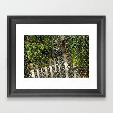 Steel Beauty Framed Art Print