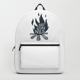 Just Stay Wild Backpack