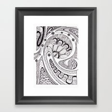 Koru 1 Framed Art Print
