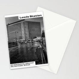 Concrete Leeds - British Rail House Stationery Cards