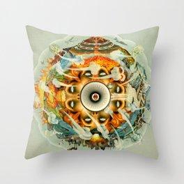 Eco Citizens Unite! Throw Pillow