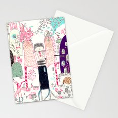 Cafe Stay in  Stationery Cards