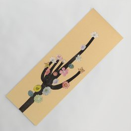 Flowering Cactus Yoga Mat