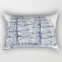 Big Sailing Ship Rectangular Pillow