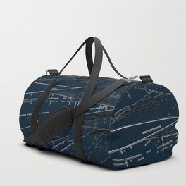 Neon Disco #6 Duffle Bag