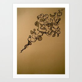 Meandering Thoughts  Art Print