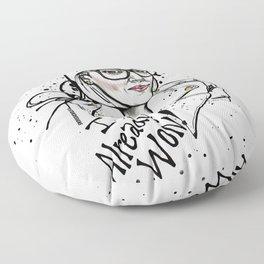 #STUKGIRL ASHLEY Floor Pillow