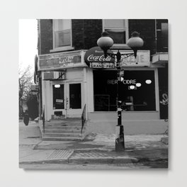 Rue de Grand-Pre, Montreal Metal Print