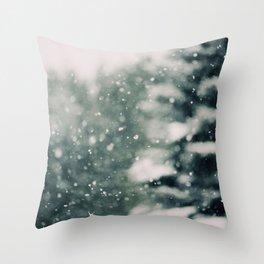 Winter Daydream Throw Pillow