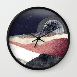 On Another Planet Wall Clock